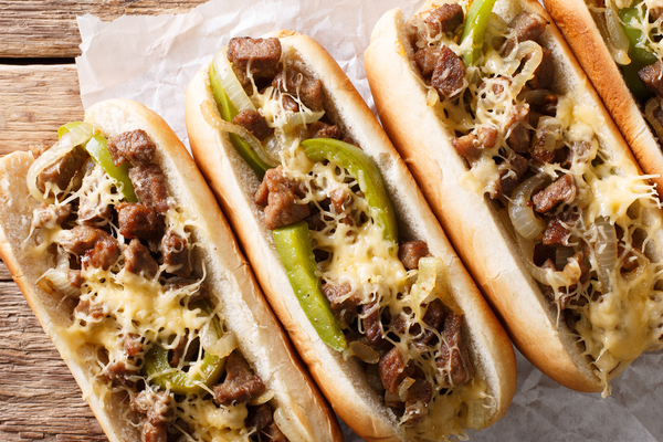 Griddle Cheesesteaks