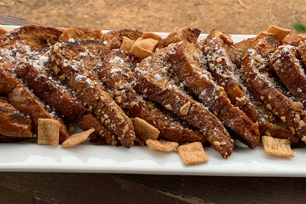 Flat Iron® Cereal French Toast