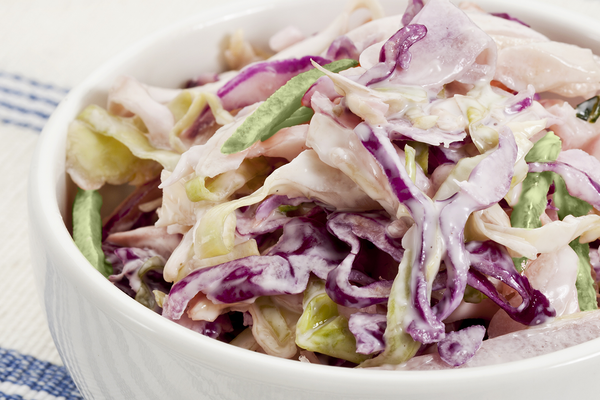 Easter Sunday Coleslaw for Pulled Pork Sandwiches
