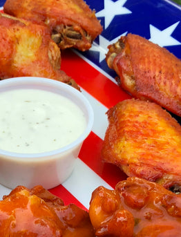 Creole Smokin' Fried Wings