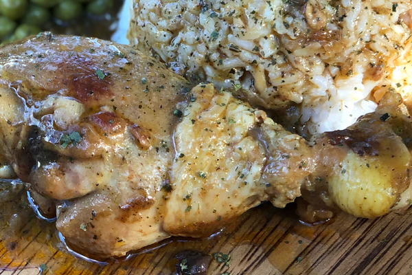 Creole Smothered Chicken