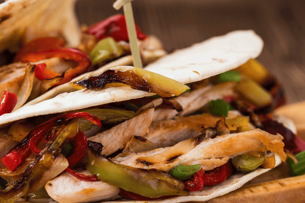 Flat Iron® East Meets West Chicken Fajitas