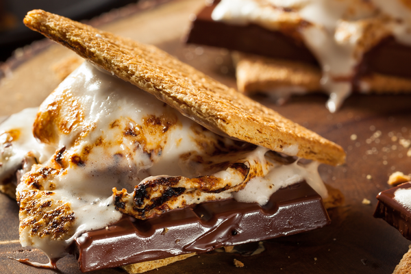 Easy Grilled S'mores