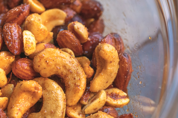 Smoked and Spiced Nuts