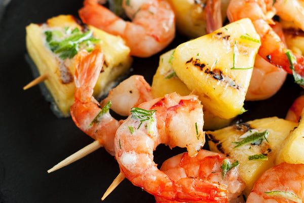 Spicy Caribbean Shrimp