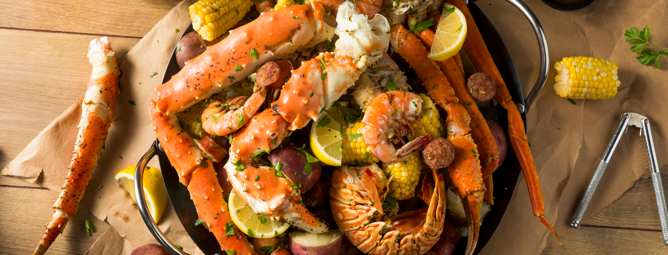 Using Your Grill for a Seafood Boil
