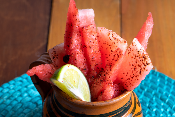 Fresh Chili Lime Watermelon Fries