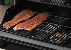 Ribs Set Up Smoking Flavor Pro