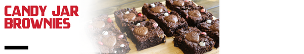Candy Jar Brownies Recipe