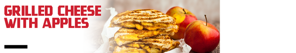Grilled Cheese with Apples Recipe