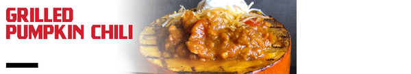 Grilled Pumpkin Chili