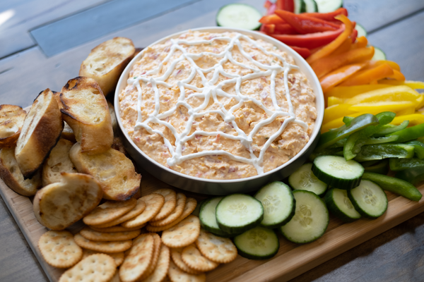Spooky Smoked Pimento Cheese Spread Recipe