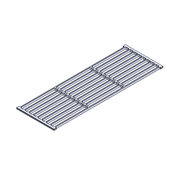 COOKGRATE - CAST IRON GRATE (1 PIECE) 19.75 x 6.75 - CHARCOAL GRILLS, ONLY
