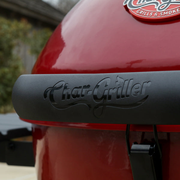 Premium Red Kettle Charcoal Grill, Red