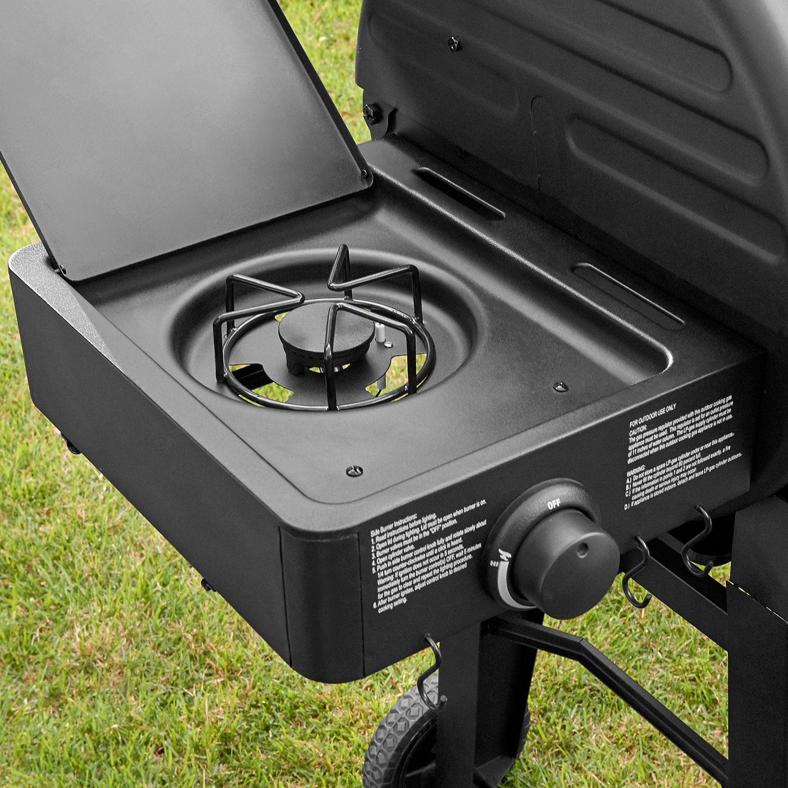 Dual Function™ Gas & Charcoal Grill | Char-Griller