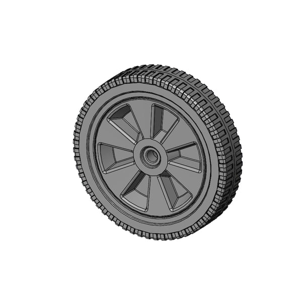 "WHEEL 8"" PLASTIC"