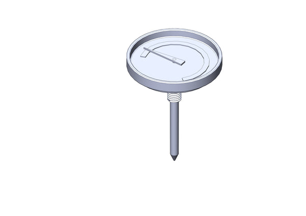 THERMOMETER WITH WINGNUT