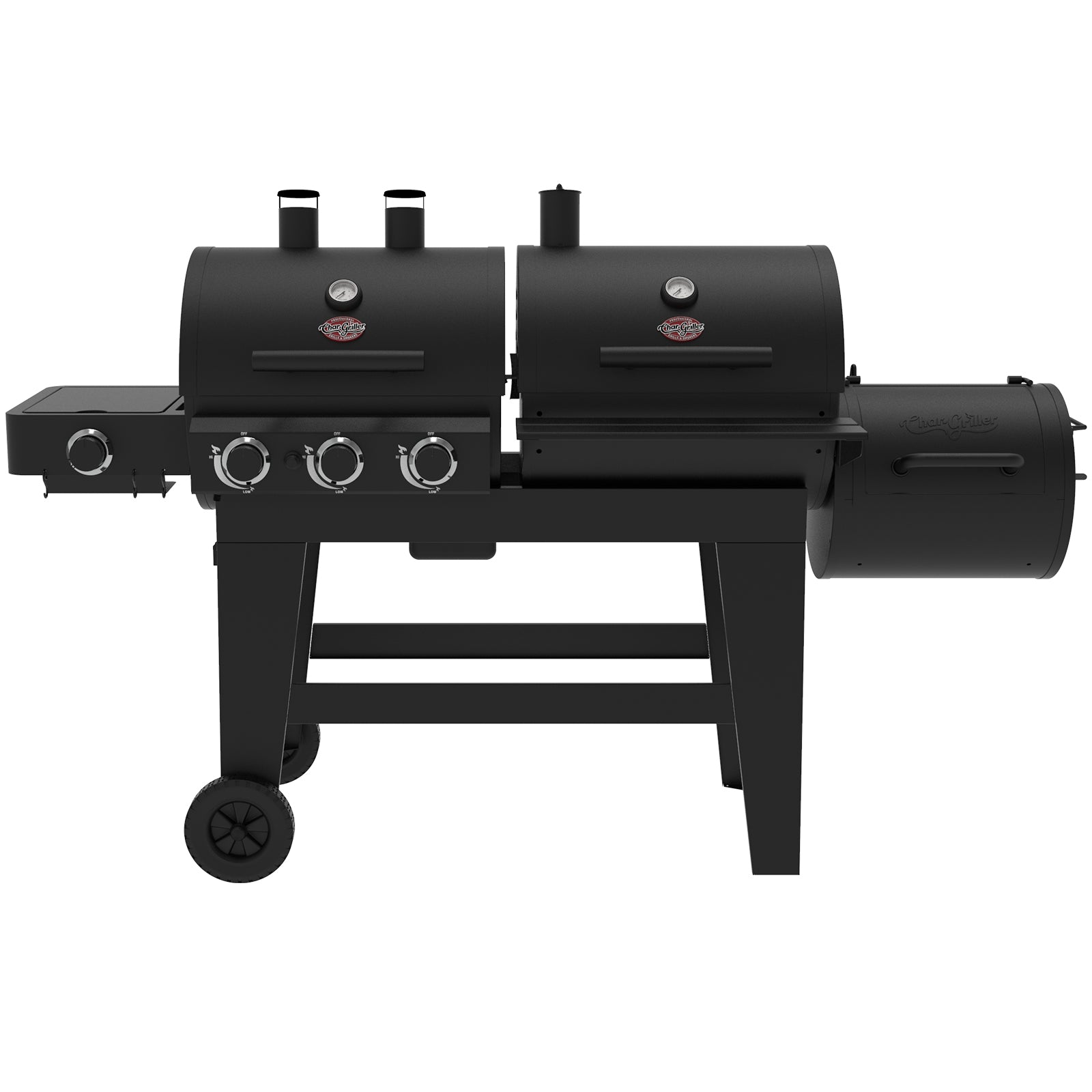 Triple Play Gas & Charcoal Grill