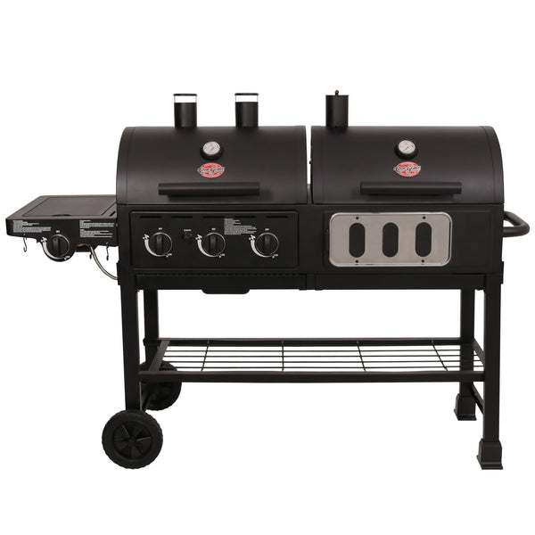 Hybrid™ Gas & Charcoal Grill