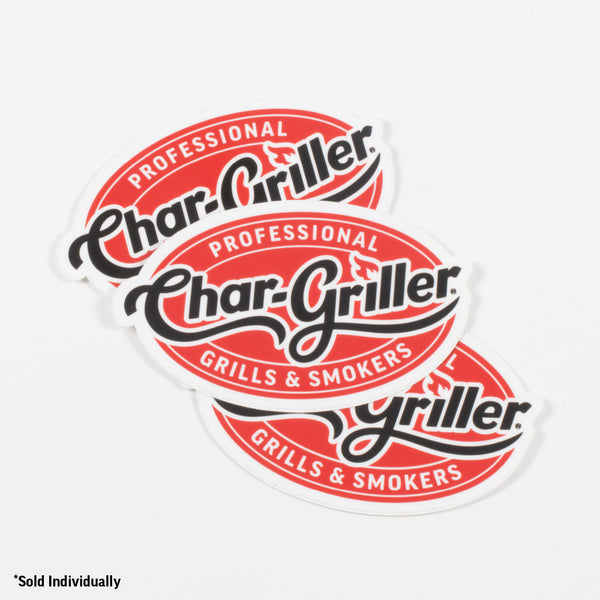 Char-Griller Decal