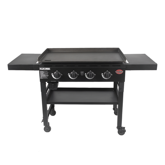 Flat Iron® Gas Griddle with Lid