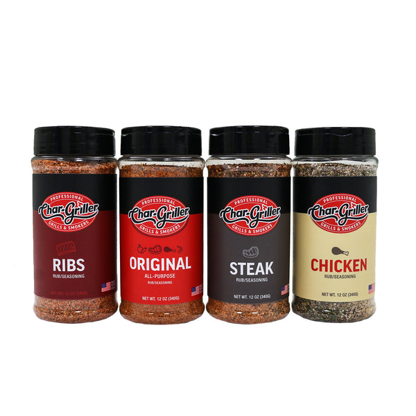 BBQ Rub Kit - 12oz.