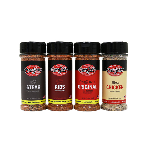 BBQ Rub Kit - 4.6oz.