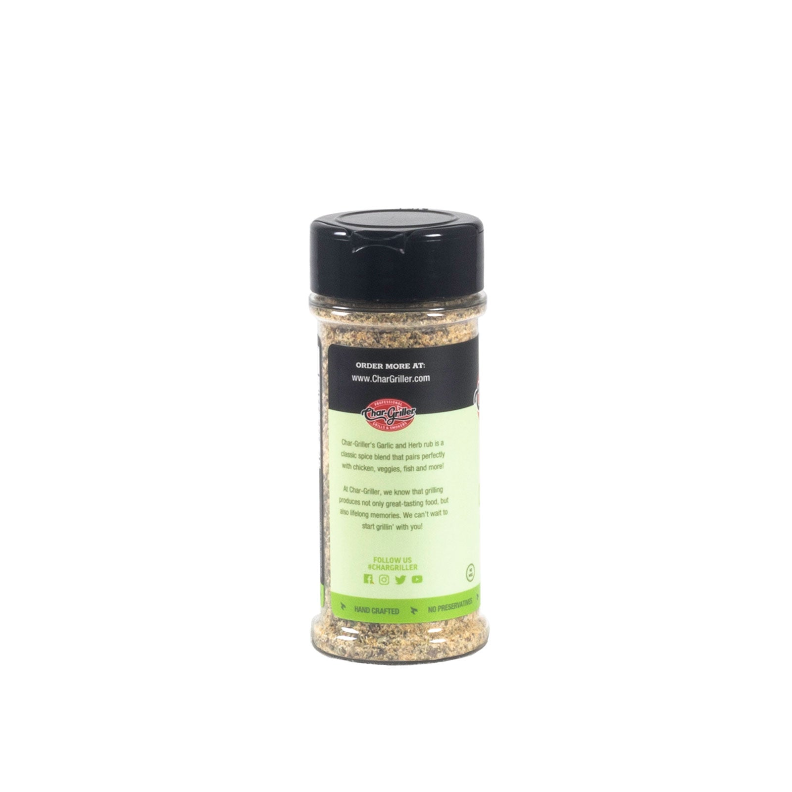 RUB - GARLIC HERB 4.6oz.