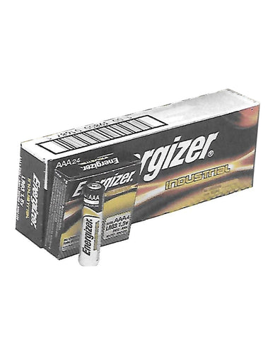 Energizer Battery Alkaline Industrial - AAA Box of 24