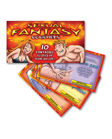 Sexual Fantasy Vouchers to Spice up Your Sex Life