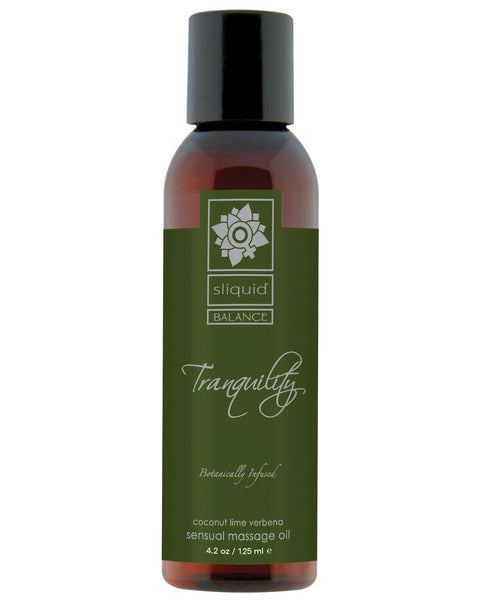 Sliquid Organics Massage Oil - 4.2 oz Tranquility