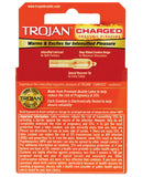 Trojan Intensified Charged Condoms - Box of 3
