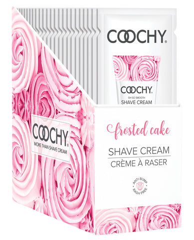 COOCHY Shave Cream - Frosted Cake Display of 24