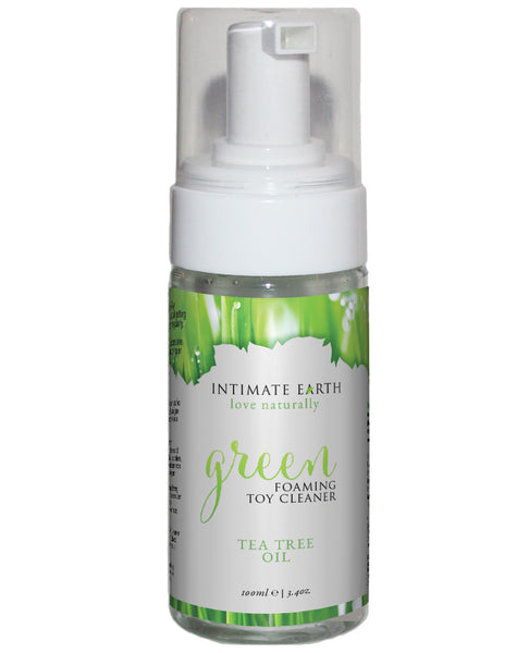 Intimate Earth Green Tea Tree Oil Foaming Toy Cleaner 100ml