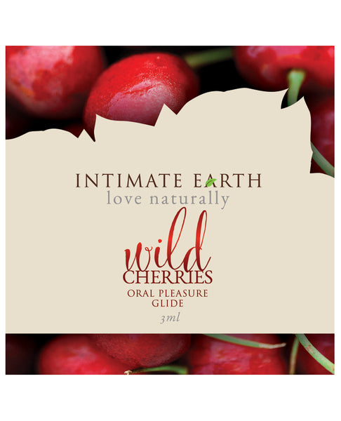 Intimate Earth Lubricant Wild Cherries - Foil