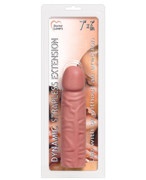 "Doctor Love Dynamic Strapless 7"" Extension - Use w/ or w/o Erection"