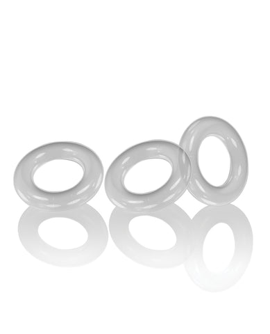 Oxballs Willy Rings - Clear Pack of 3