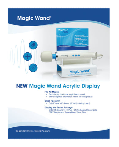 Vibratex Magic Wand Kit - Display of 12