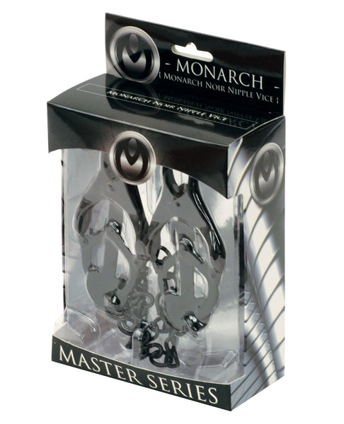 Master Series Monarch Noir Nipple Vice