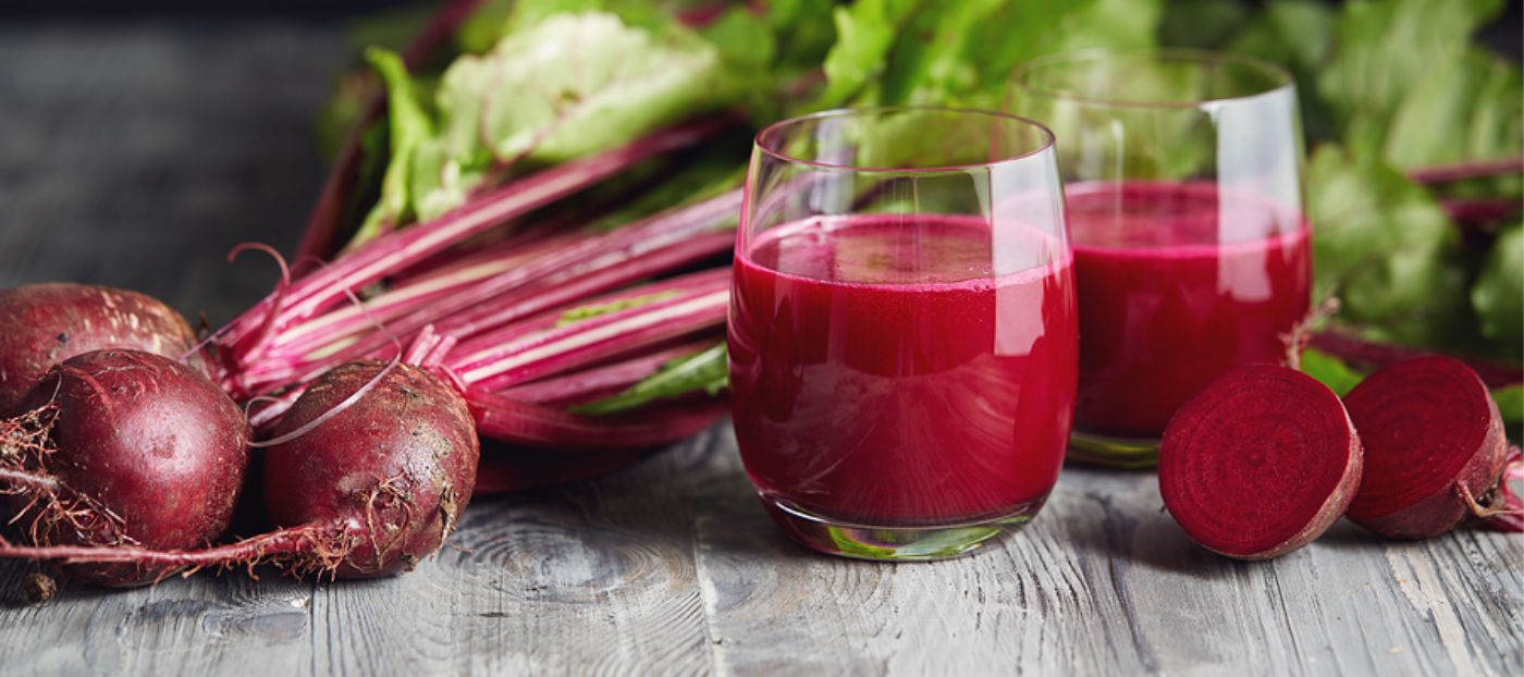 fresh beets and beet juice