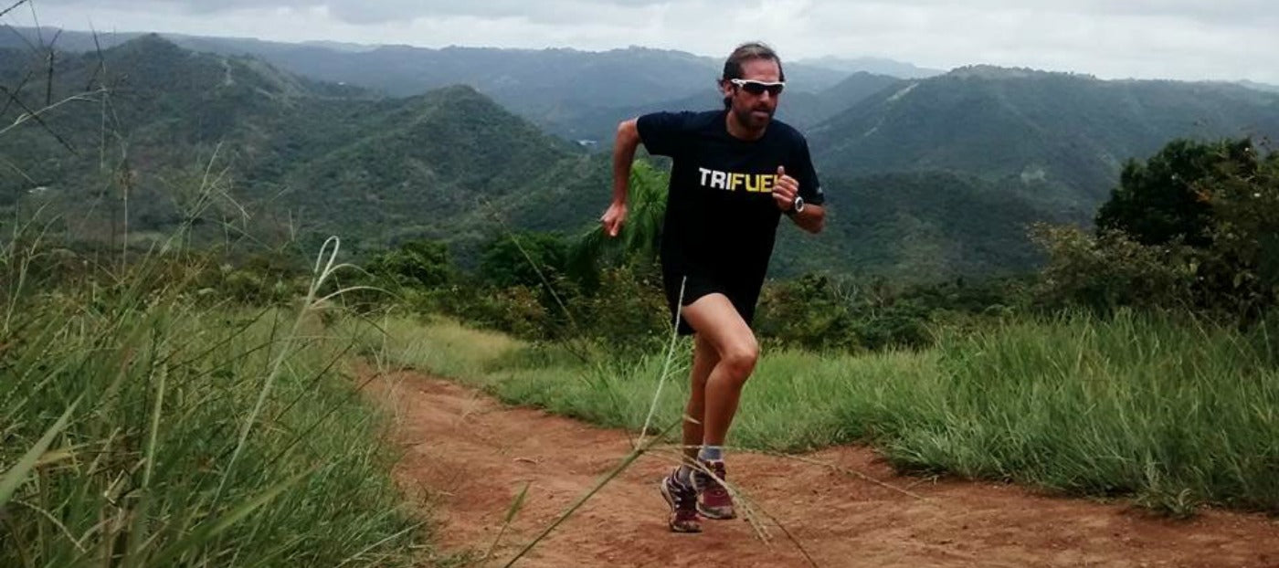 Alberto Saldana, Xterra Trail Runner and Ultra Marathoner