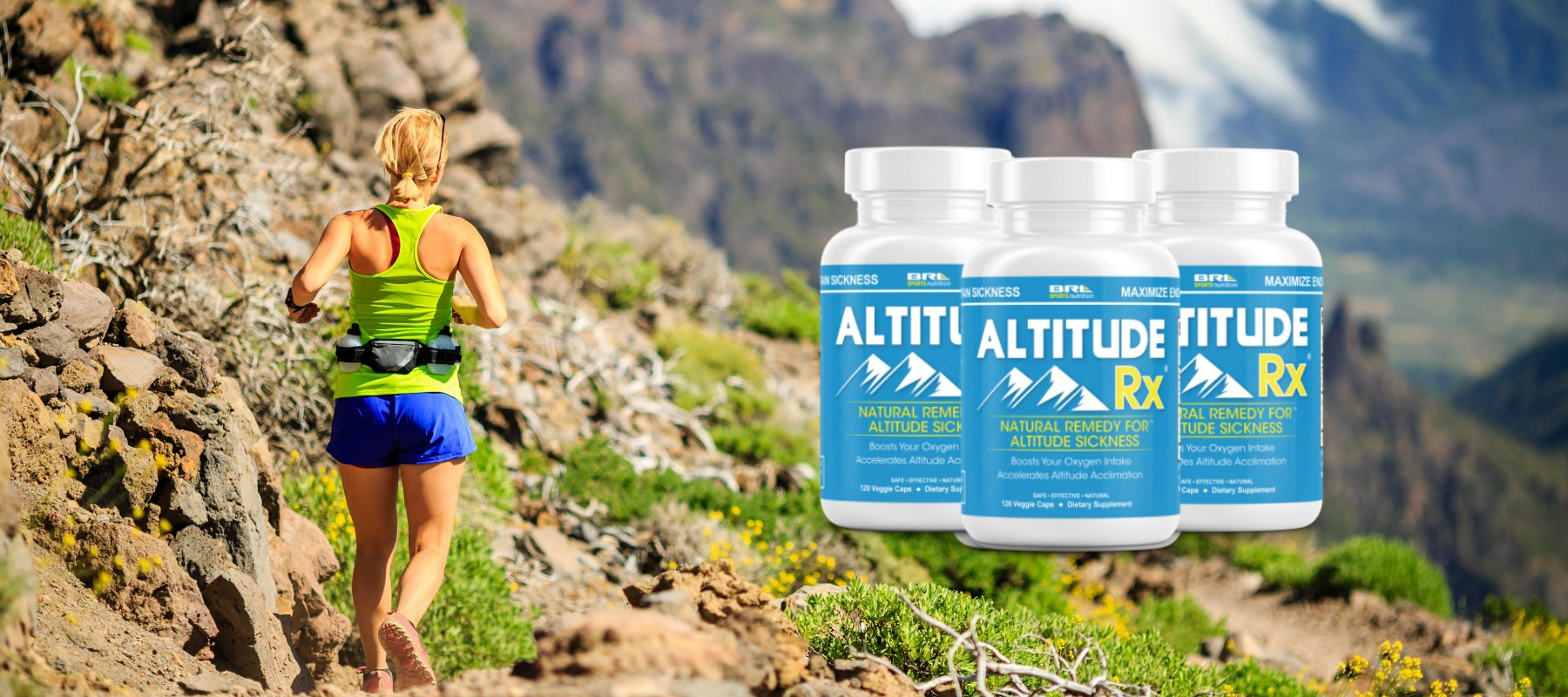 AltitudeRx altitude sickness supplement