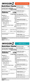 invigor8 superfood shake nutrition facts