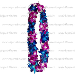 FRESH DOUBLE LEIS - SONNIA & BLUE SONNIA