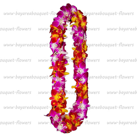 FRESH DOUBLE LEIS - SONNIA & YELLOW SONNIA