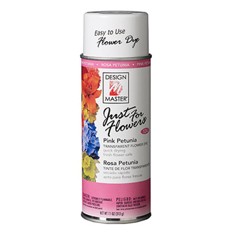 Design Master 124 Just for Flowers Spray Paint, Pink Petunia