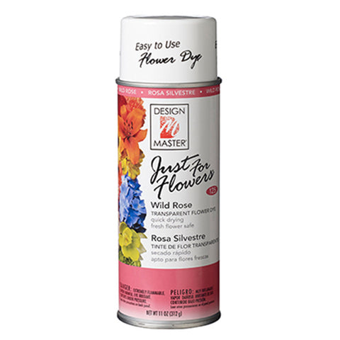 Design Master 125 Just for Flowers Spray Paint, Wild Rose