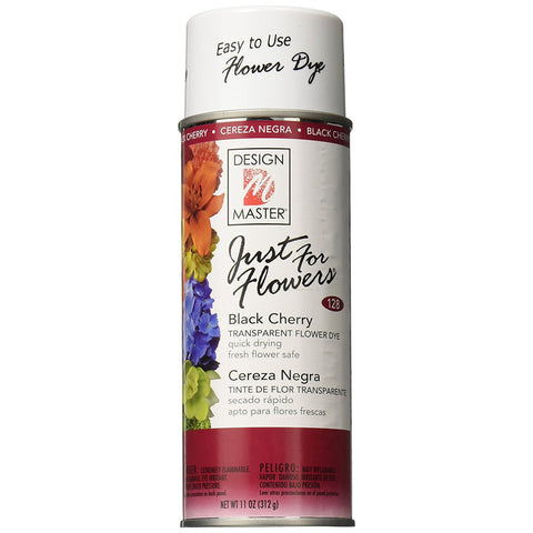 Design Master 128 Just for Flowers Spray Dye, Black Cherry