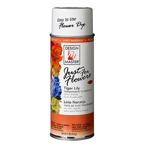 Design Master 129 Just for Flowers Spray Paint, Tiger Lily
