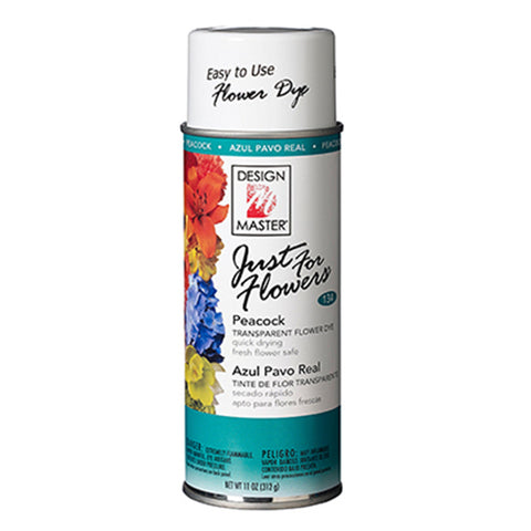 Design Master 134 Just for Flowers Spray Paint, Peacock